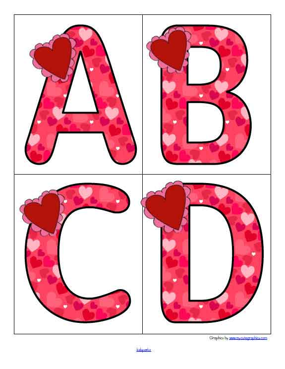 Valentine's Day Theme Activities And Printables For Preschool, Pre-K And  Kindergarten - KIDSPARKZ