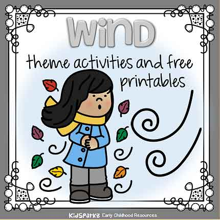 Wind theme activities for preschool and kindergarten